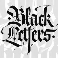 VI06 black letters 200x200