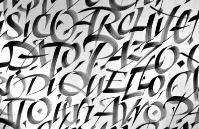 Associazione calligrafica italiana RO03_Maiuscole_Barcellona